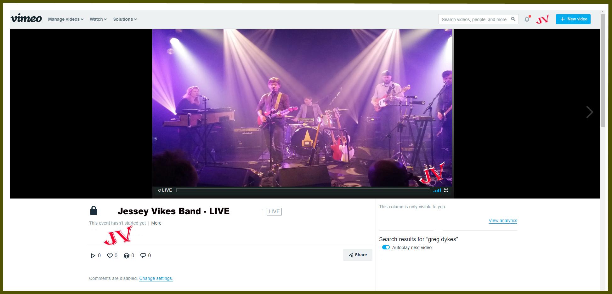 live music venu video productions los angeles