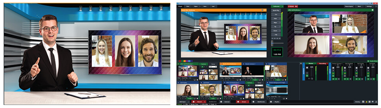 virtual Live stream meetings Las Vegas