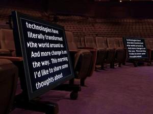 Audience monitors los angeles