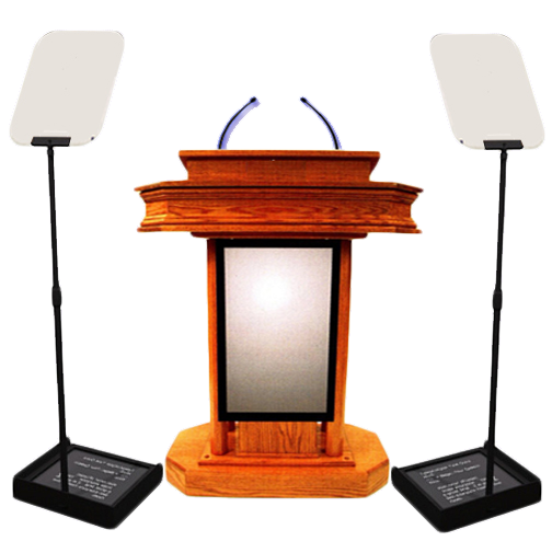 presidnetial Teleprompter rental Los Angeles beverly Hills
