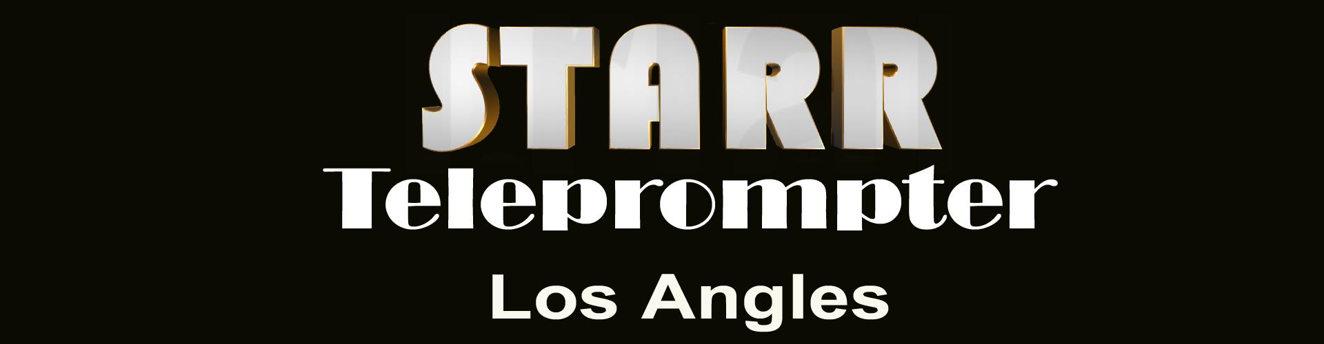 Teleprompter operator los Angeles